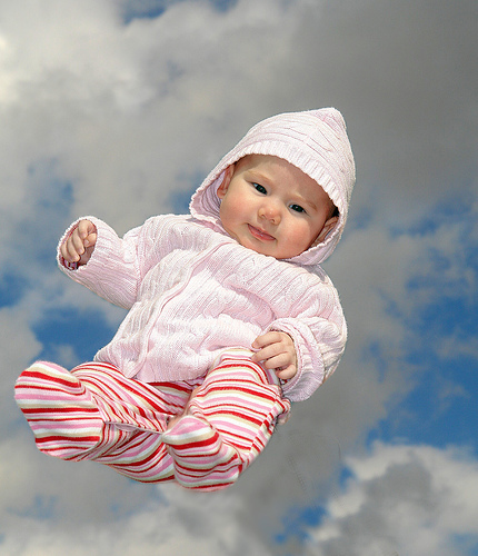 The Flying Baby.