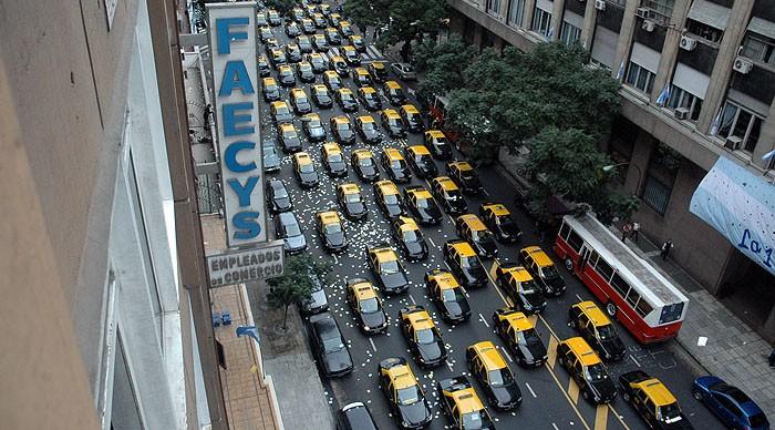 Asì se veràn las calles alrededor del Nacional Buenos Aires, por ejemplo.